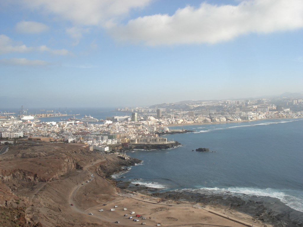 Las Palmas city view