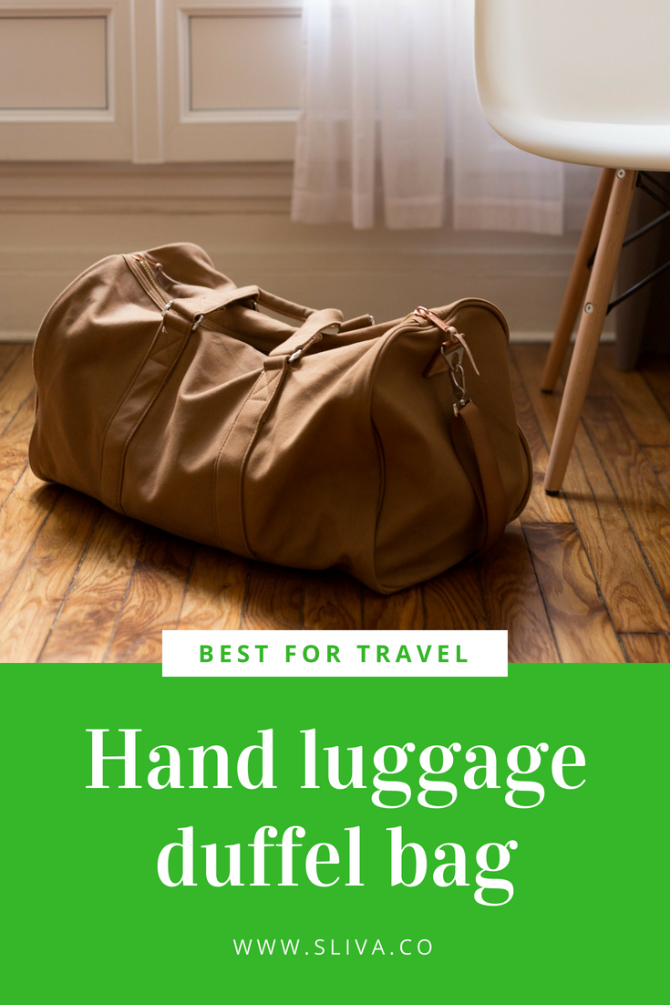 Best for travel hand luggage duffel bag #travel #travelbag #handluggage #duffelbag #bag #travelbag #basecampduffelbag