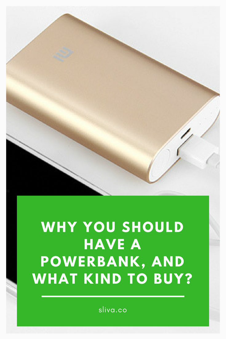 Why you should have a power bank, and what kind to buy? #powerbank #travel #travelpowerbank