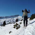Can you use alpine ski boots for ski touring?