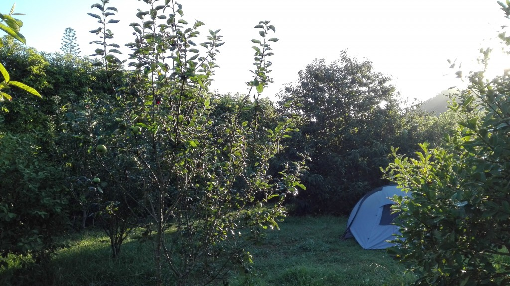 Camping in Sao Miguel, Azores