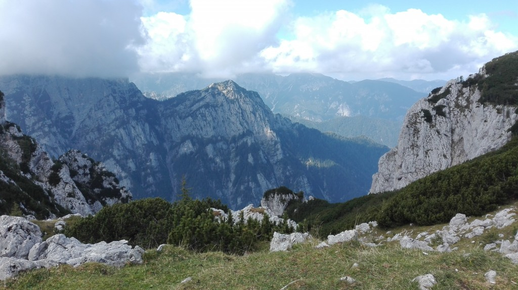 Hike towards Debela Peč, Slovenia