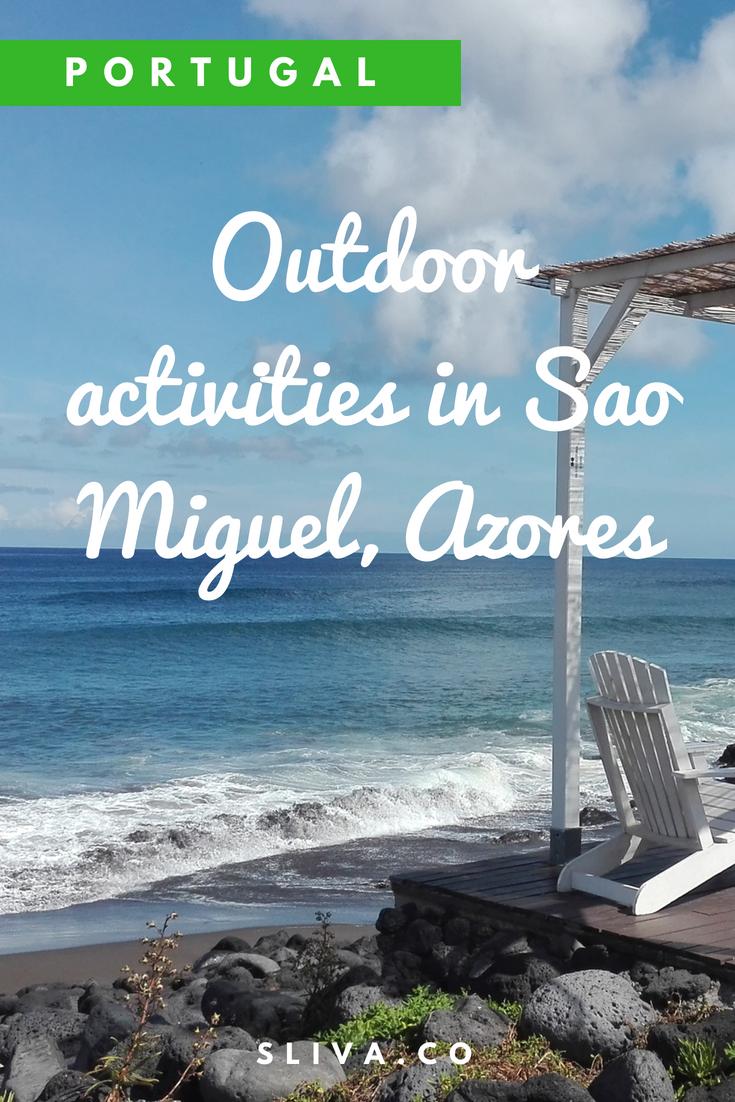 Outdoor activities in Sao Miguel, Azores