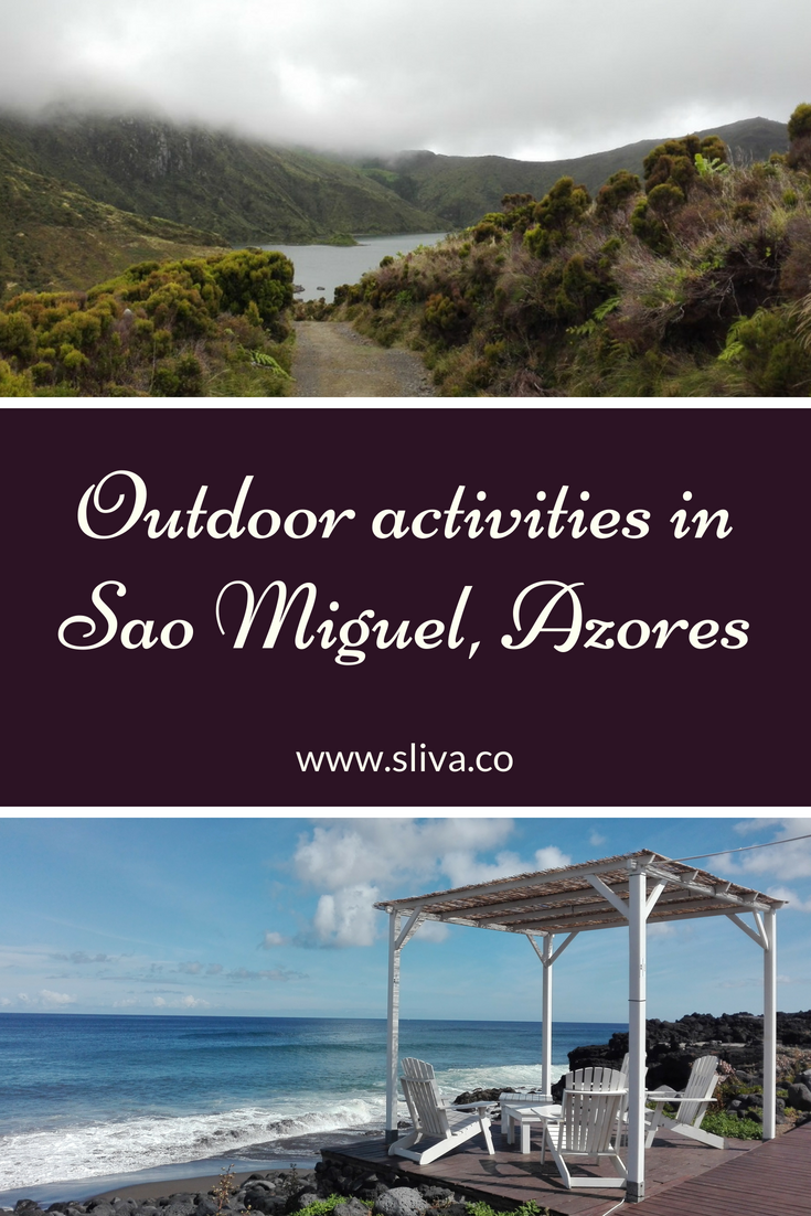 Outdoor activities in Sao Miguel, Azores