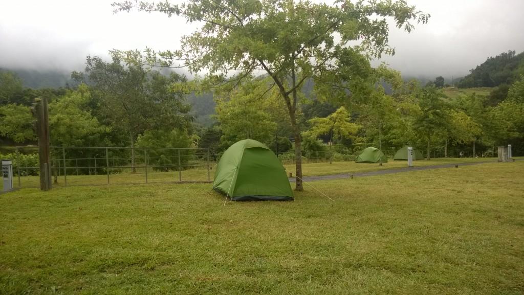 Furnas camping, Sao Miguel, Azores
