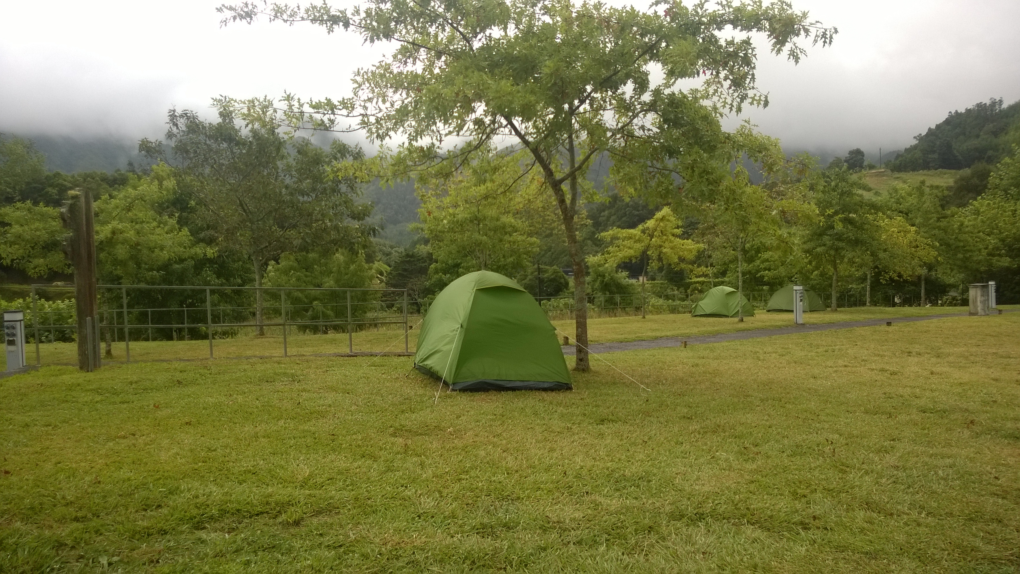 Camping In Sao Miguel Azores Sliva