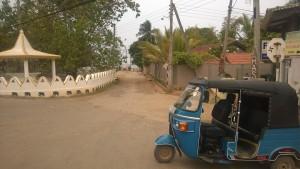 Tuk-tuk at Sri Lanka