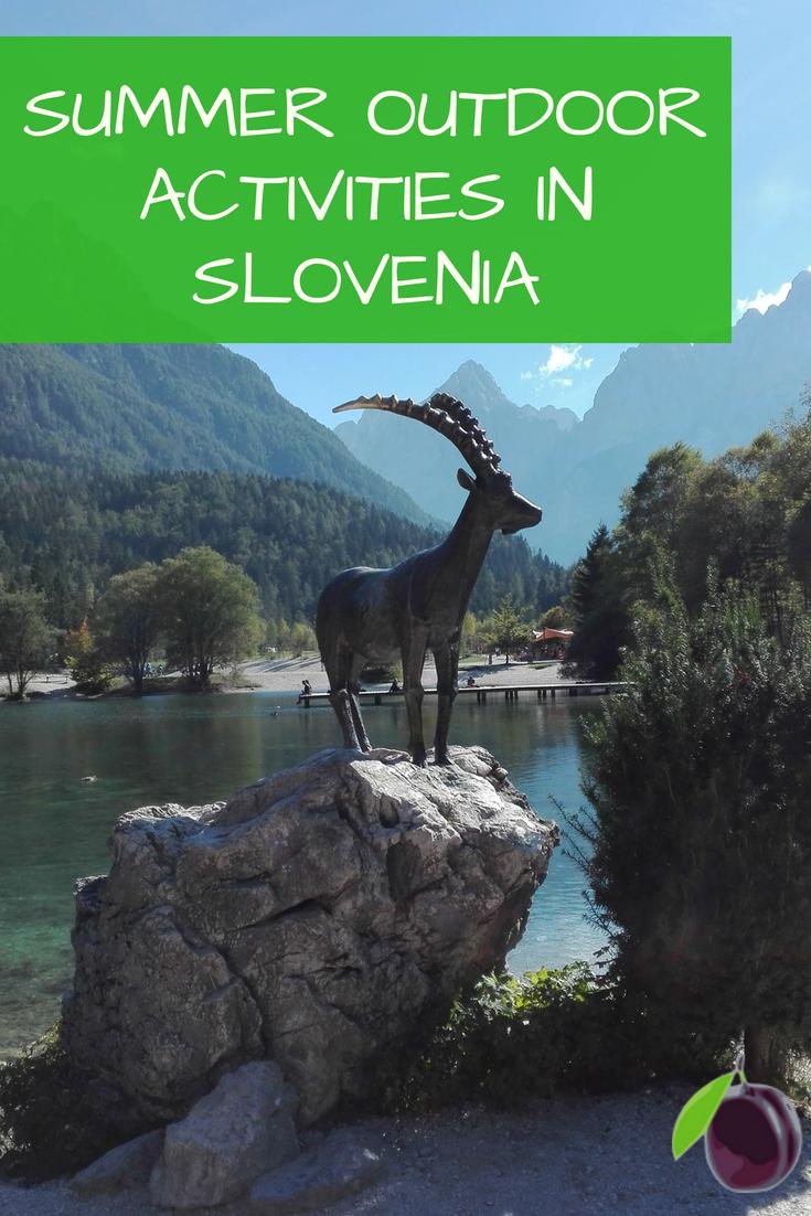 Summer outdoor activities in Slovenia