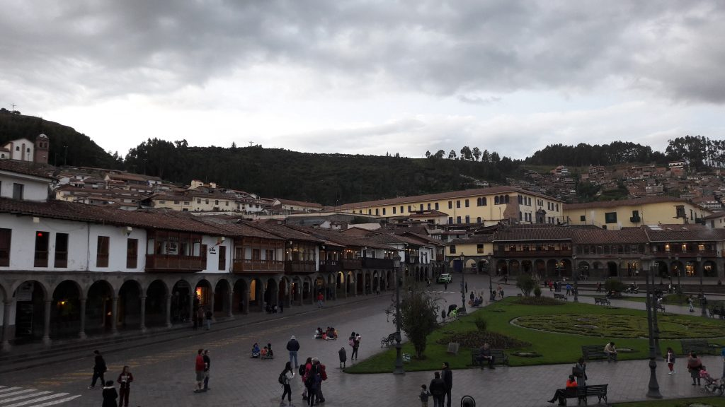 Cusco city center