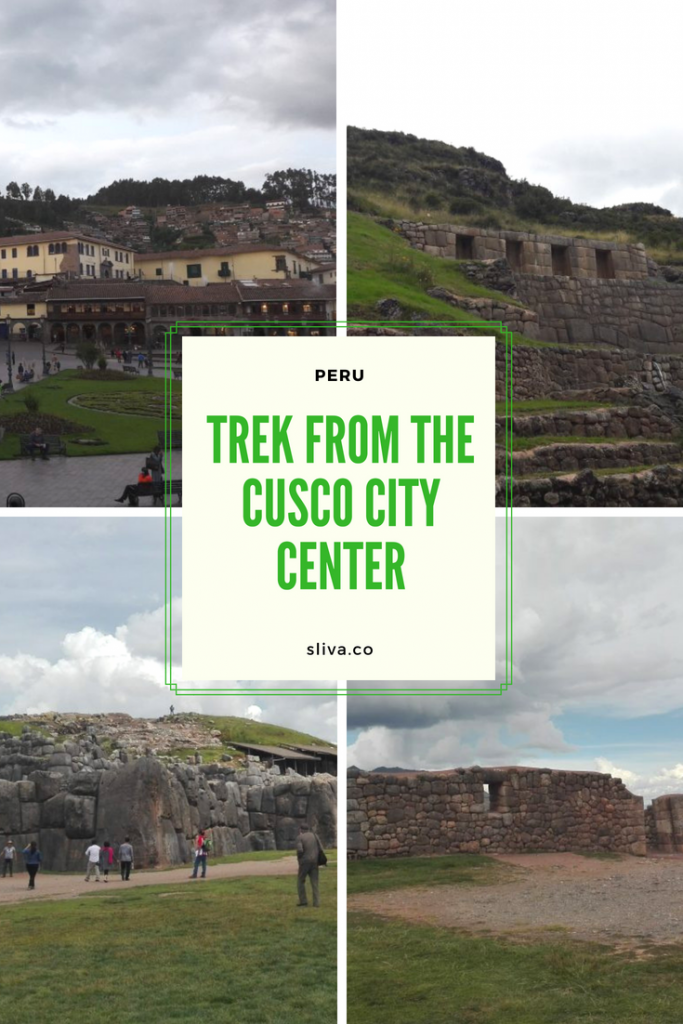 Cusco - trek from the city center