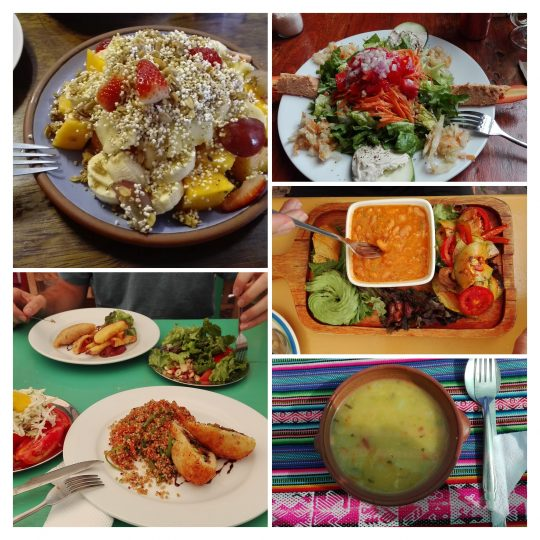 Vegan restaurants in Cusco