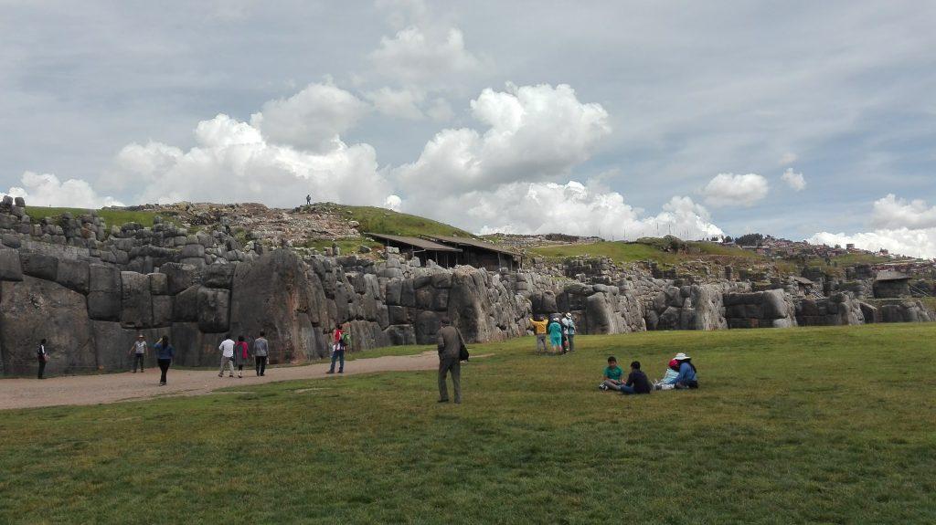 An impressive Sacsayhuaman