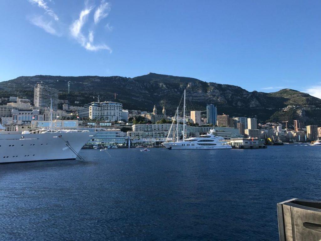 Arrived to Monaco