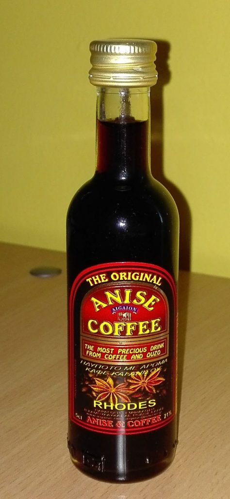 Anise coffee Greek liqueur
