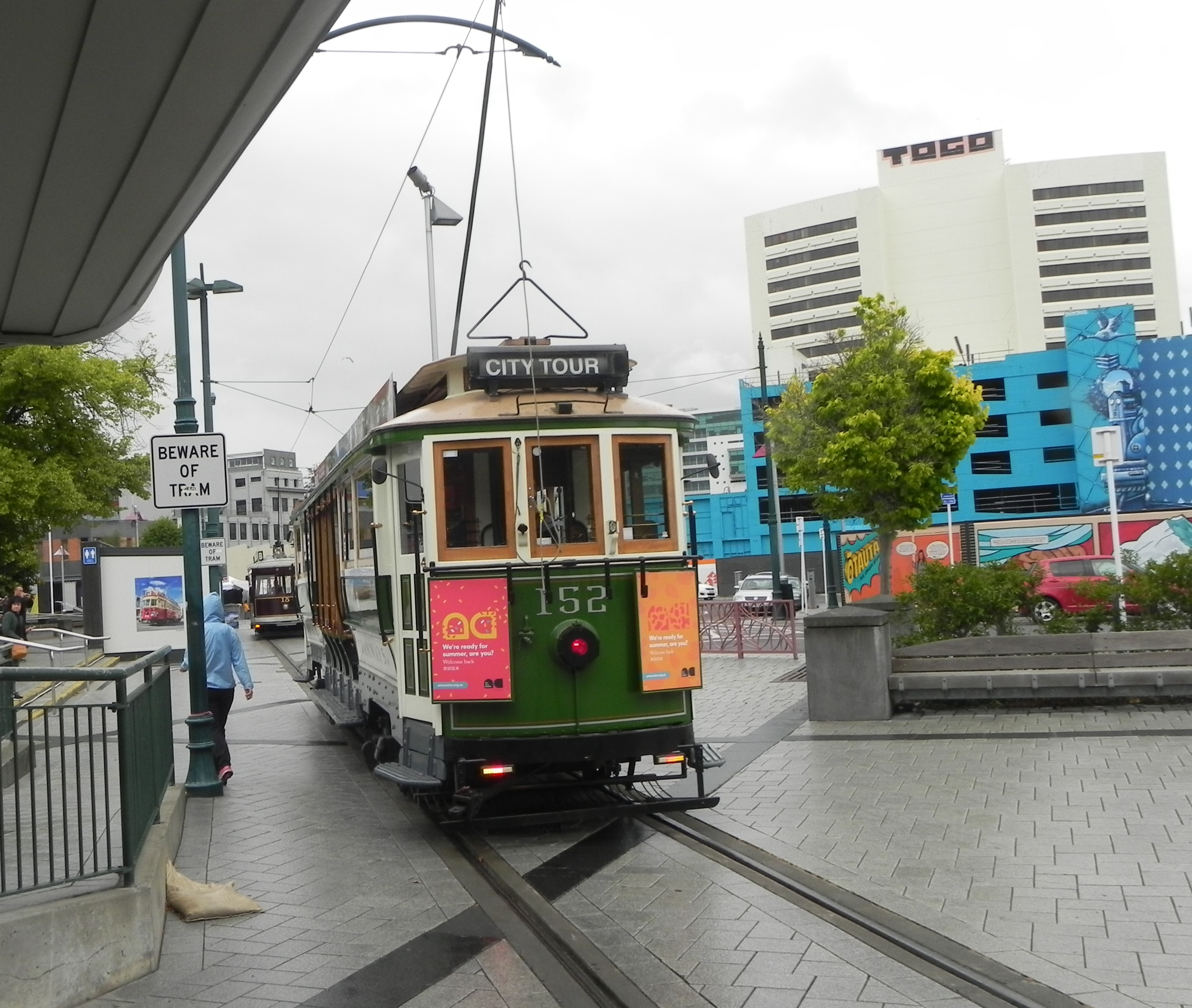 Christchurch tramway city tour