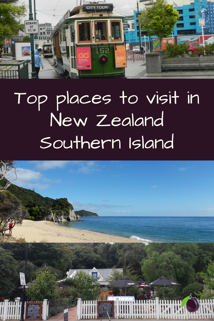 Top places to visit in New Zealand Southern Island