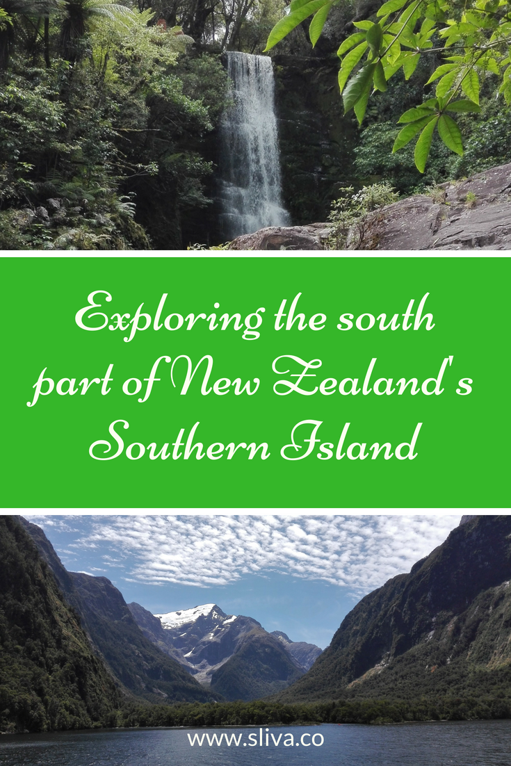 Exploring the south part of New Zealand's Southern Island #NewZealand #SouthernIslandNZ #travelNZ #roadtrip #Otago #Fiordland #MilfordSound