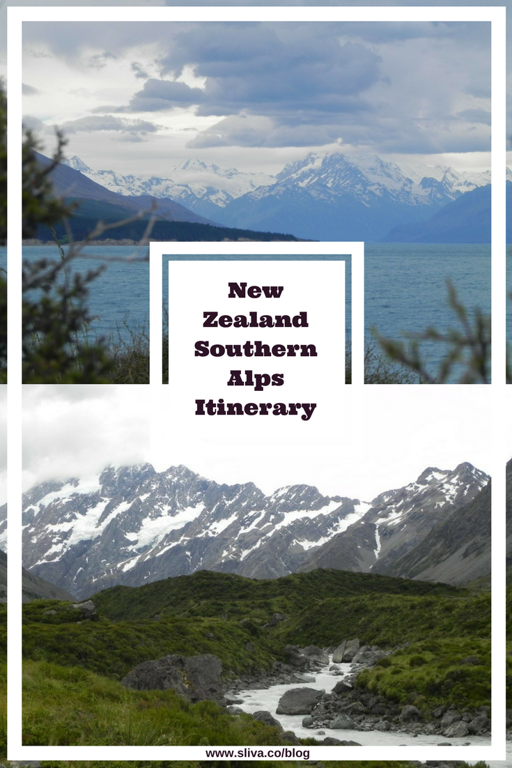 New Zealand Southern Alps Itinerary
