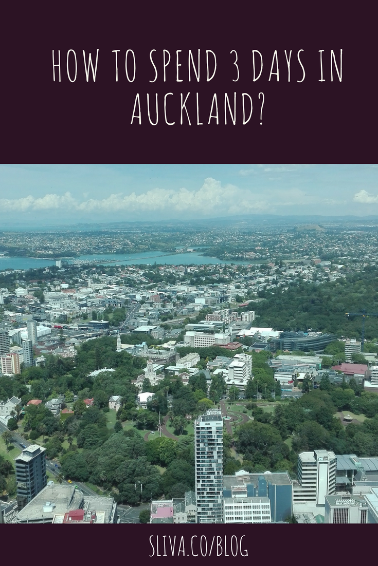 How to spend 3 days in Auckland? pin1