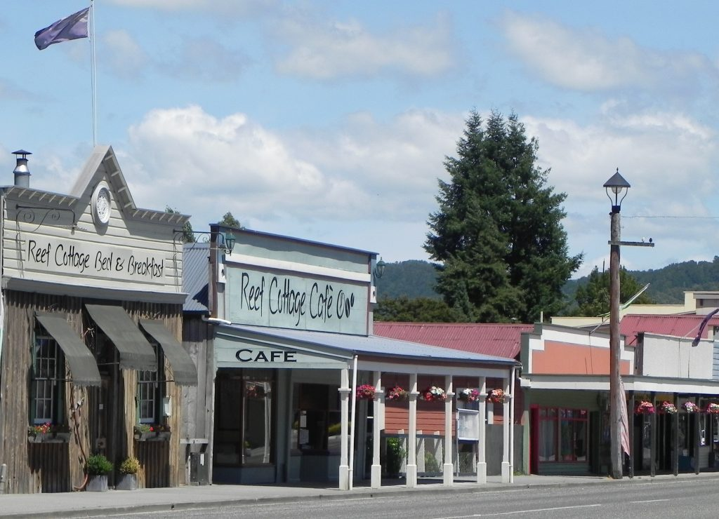 Most of the Reefton city buildings looks the same as from the time of gold digging
