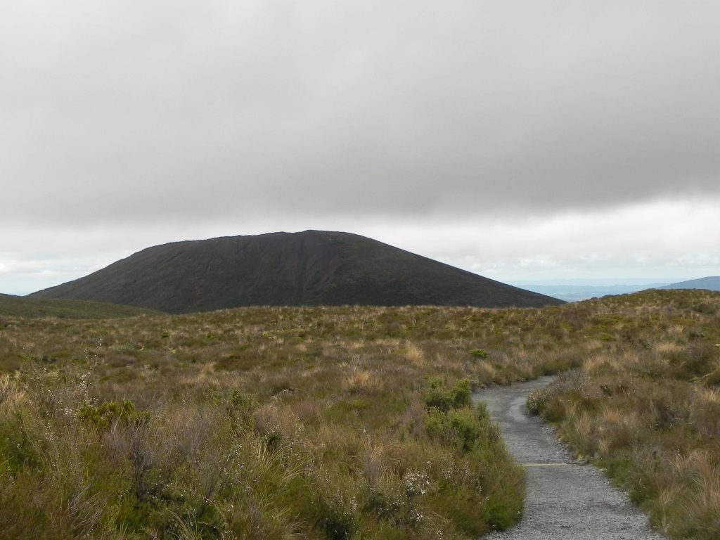 Tongariro Alpine Crossing path