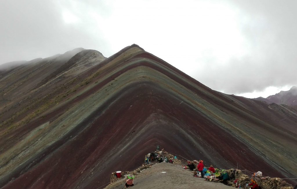Vinicunca Mountain more knows as Rainbow Mountain.