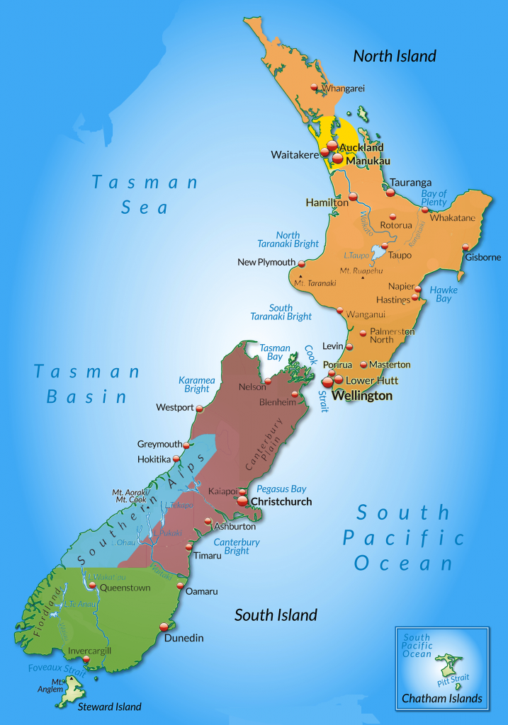Where Is Wellington New Zealand On The Map.One Month New Zealand Road Trip Itinerary Sliva