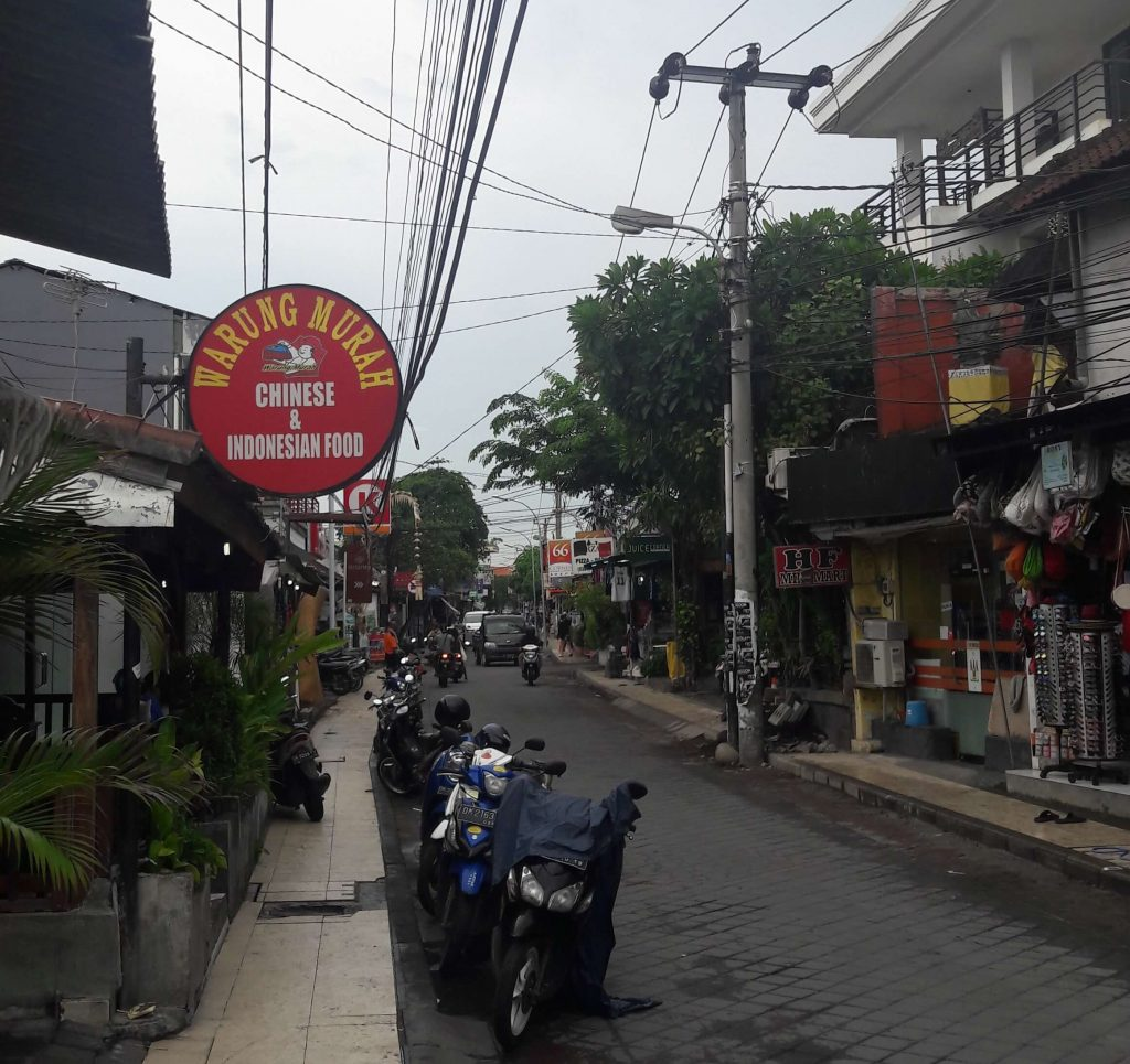 Typical Bali street