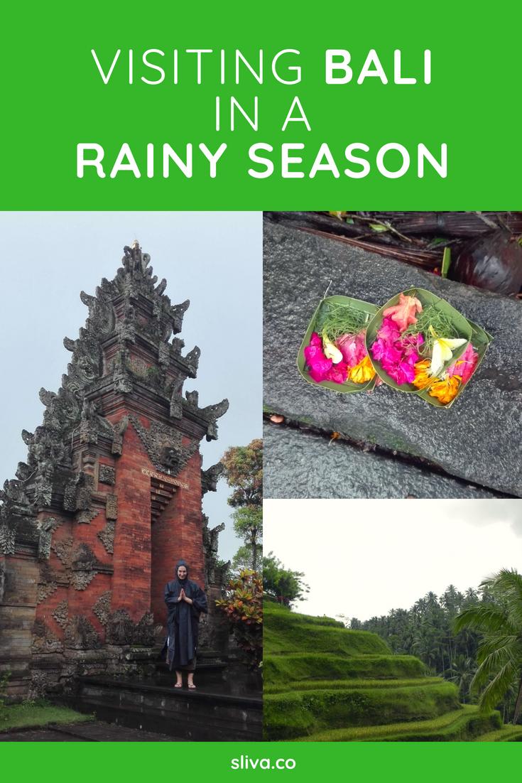 Visiting Bali in a rainy season #Bali #Balitravel #travel #rain #rainyseason #Indonesia