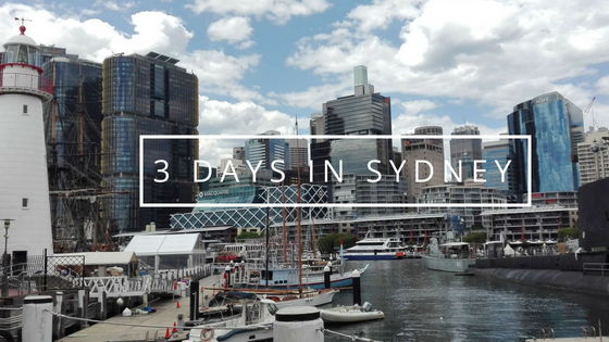 3 days itinerary in Sydney