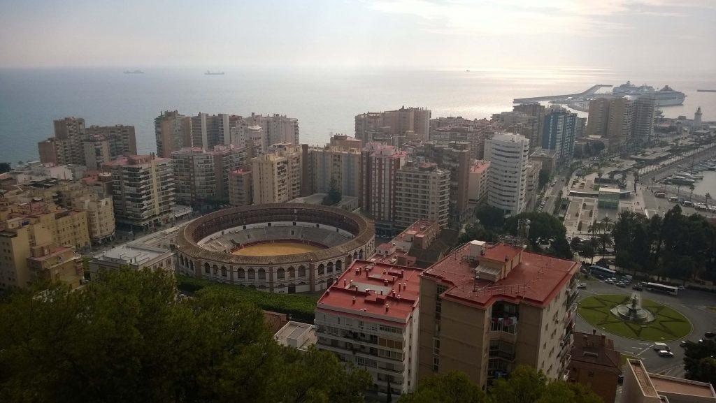 Malaga colosseum