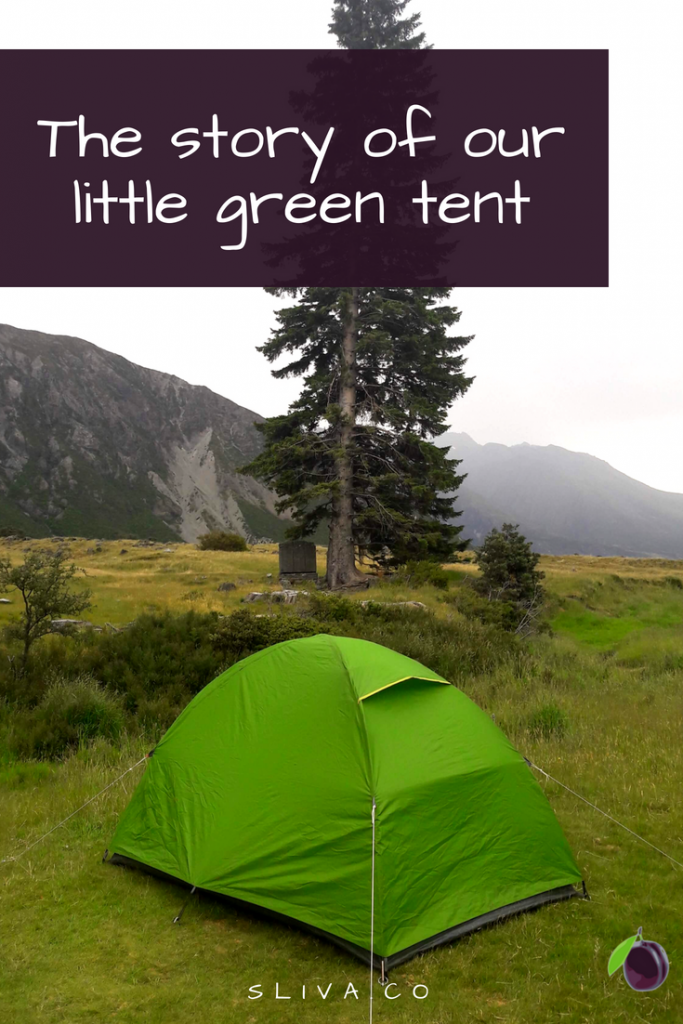 The story of our little green tent_pin