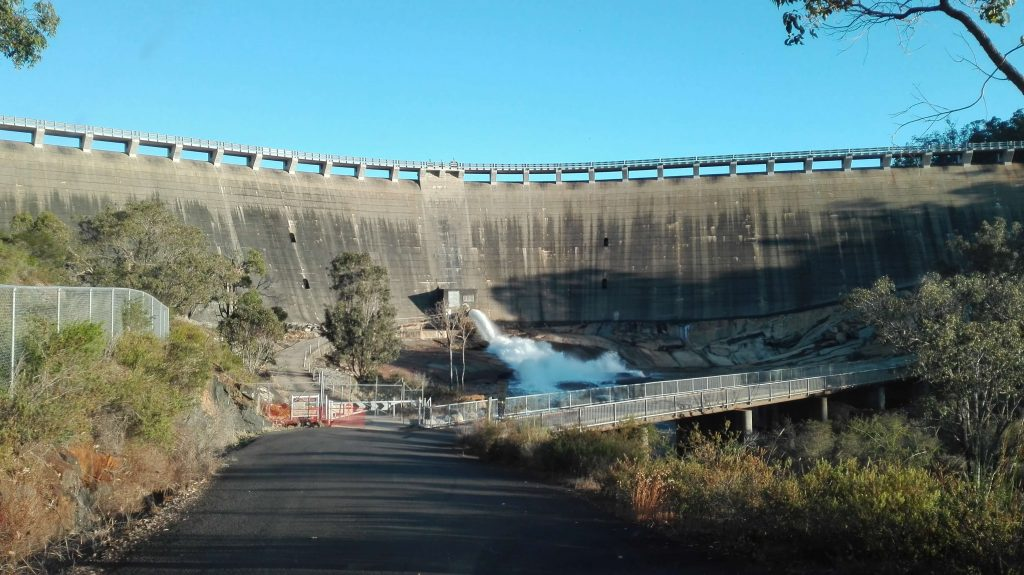 Dam at Collie