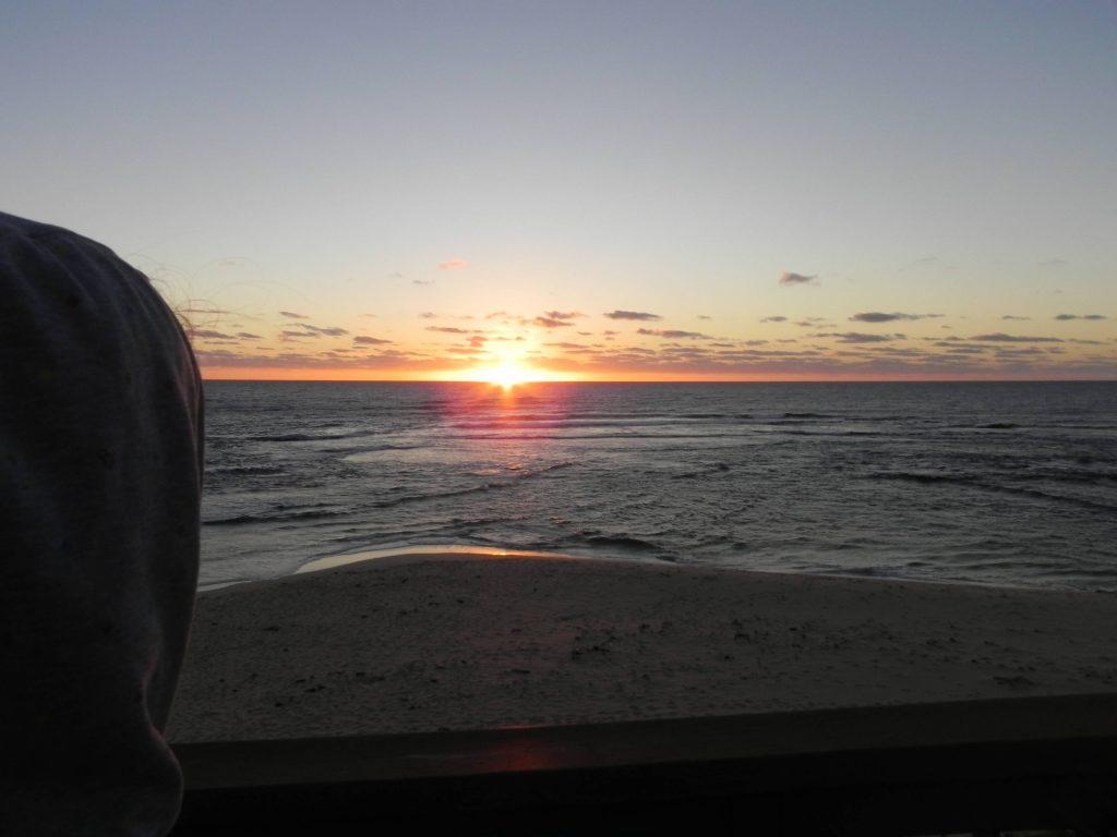 Sunset in West Australia