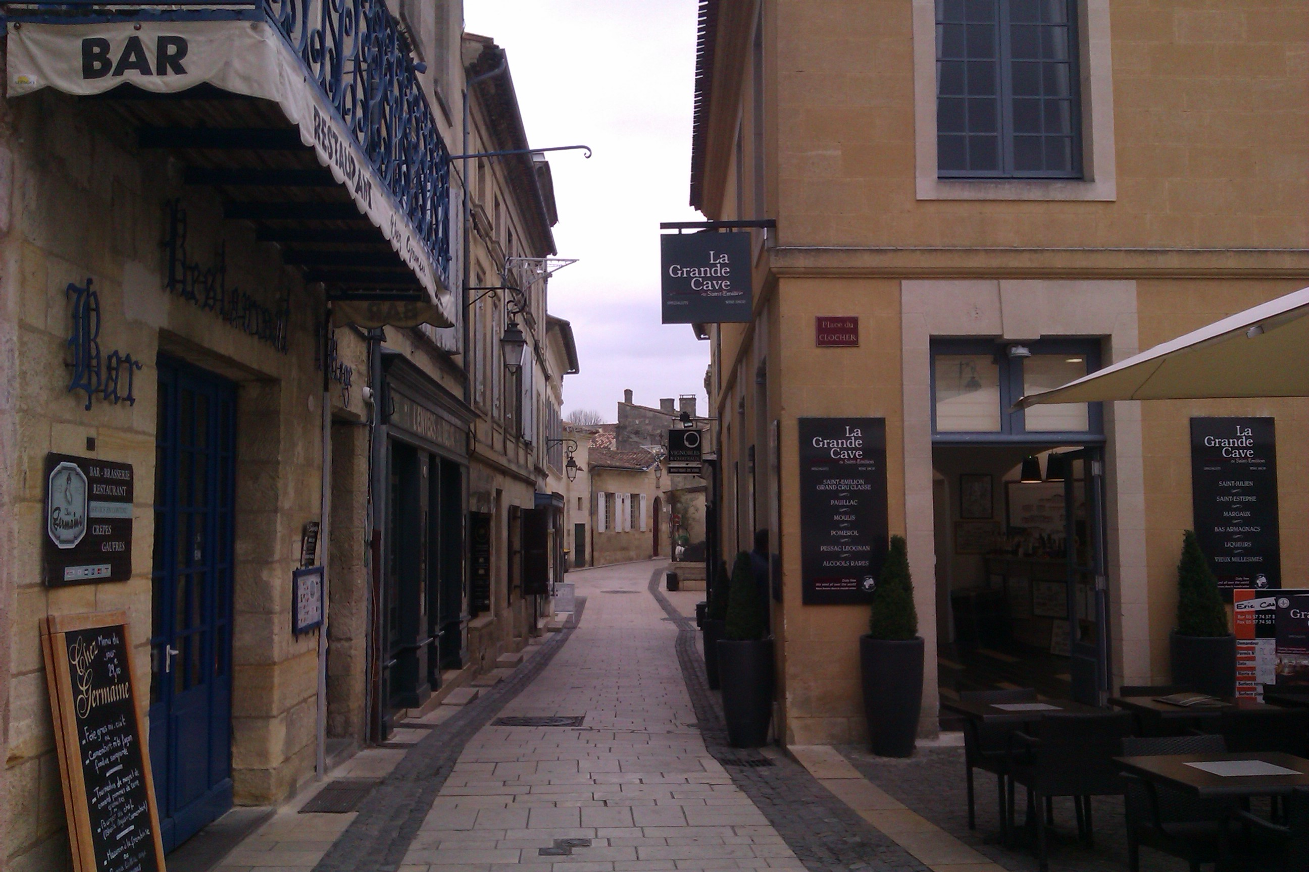 St.Émilion street
