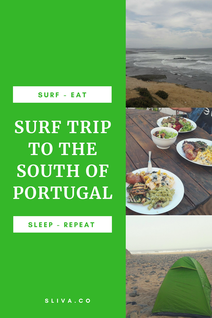 Surf trip to the south of Portugal
