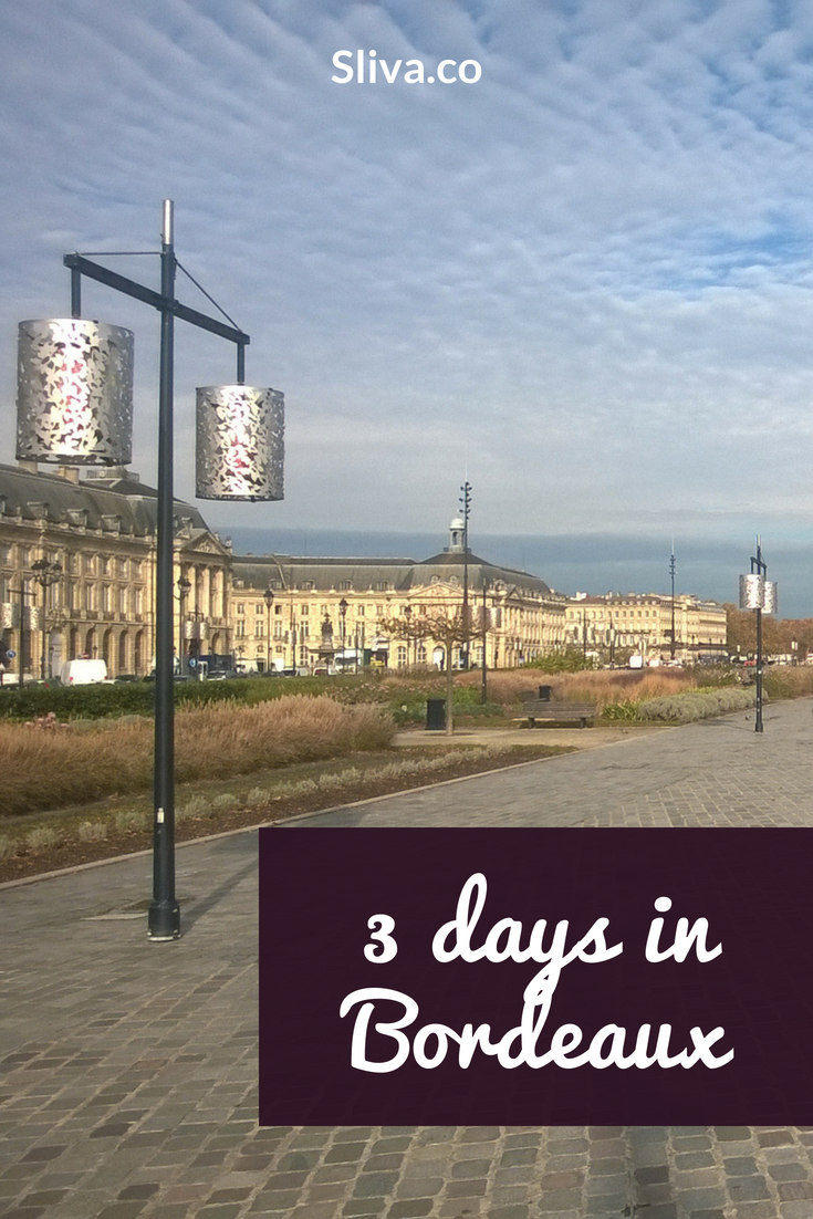 Bordeaux in 3 days