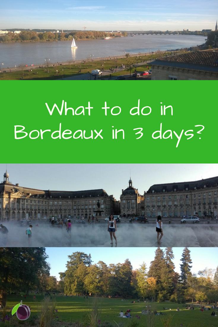 Bordeaux in 3 days