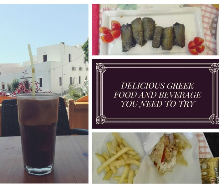 Delicious Greek food and beverage you need to try