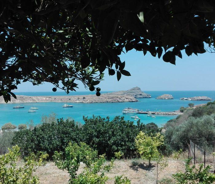 Relaxing, yet exploring week on Rhodes island, Greece
