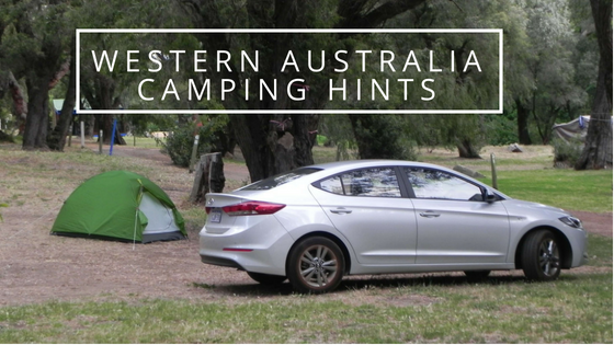Western Australia camping hints