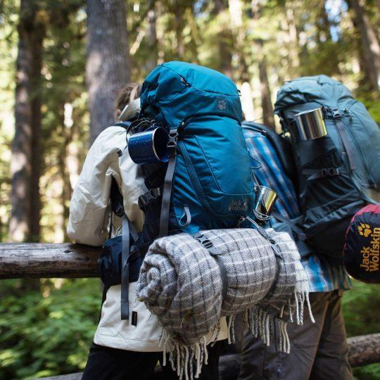 Minimalist camping hacks & packing list