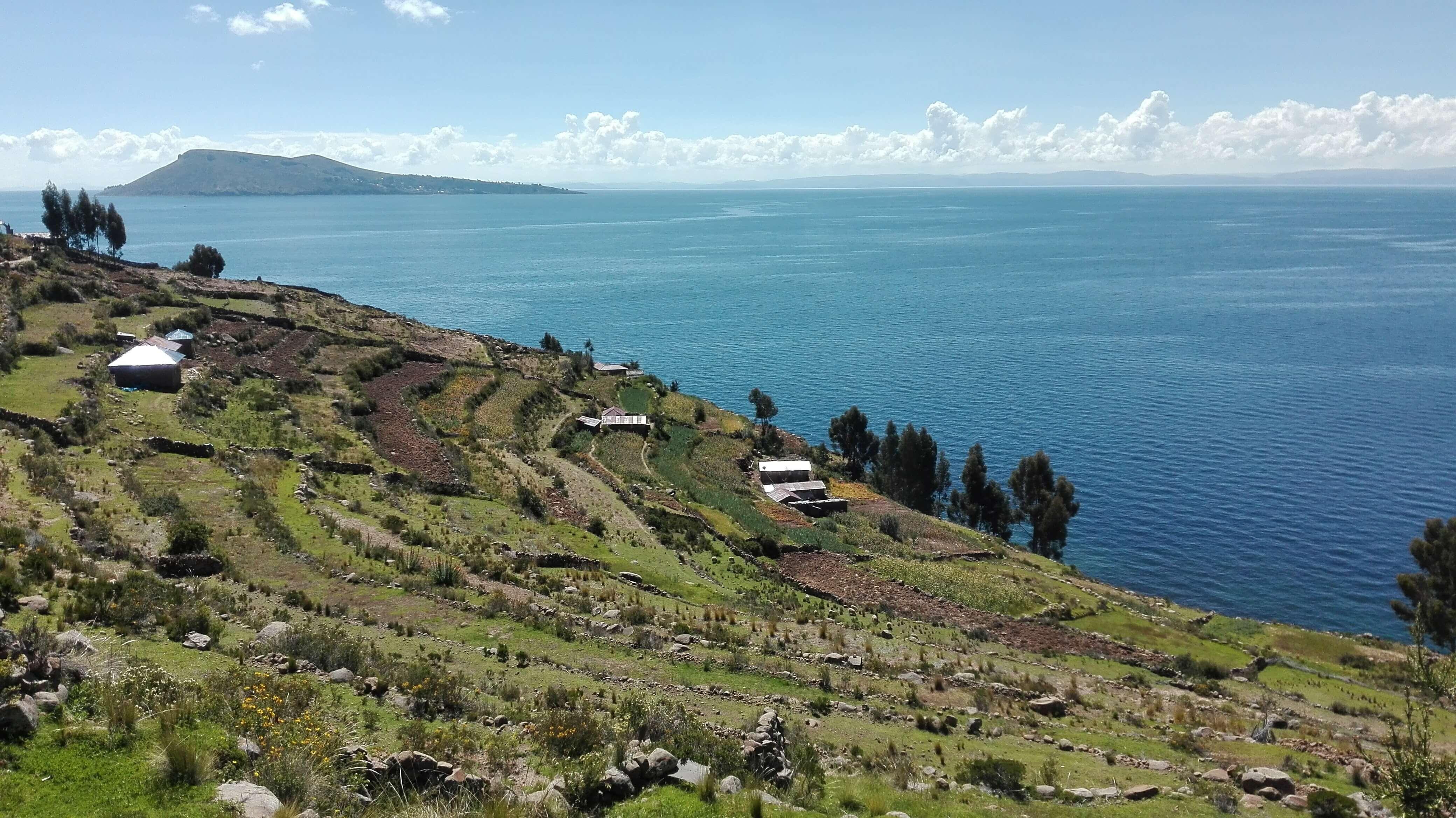 farming at Taquile island