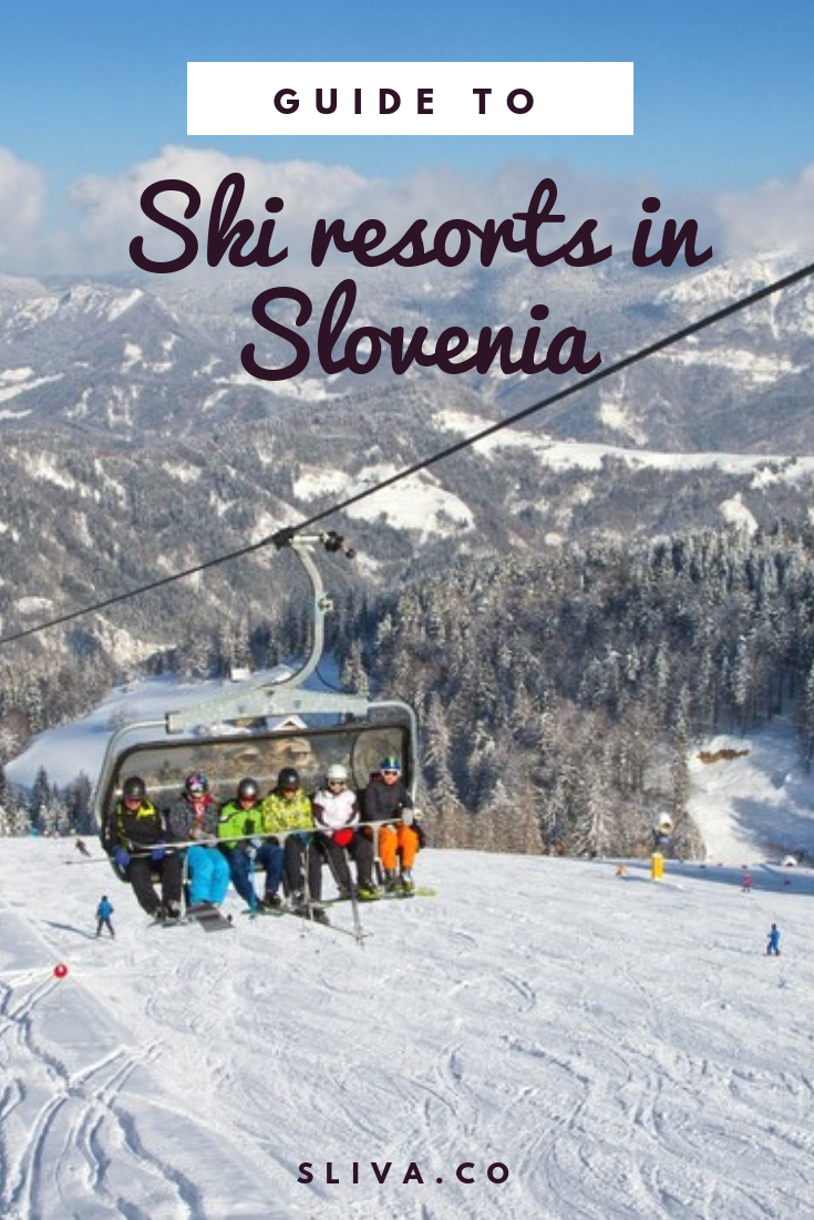 Tour around ski resorts in Slovenia #Slovenia #ski #skiing #skiresorts