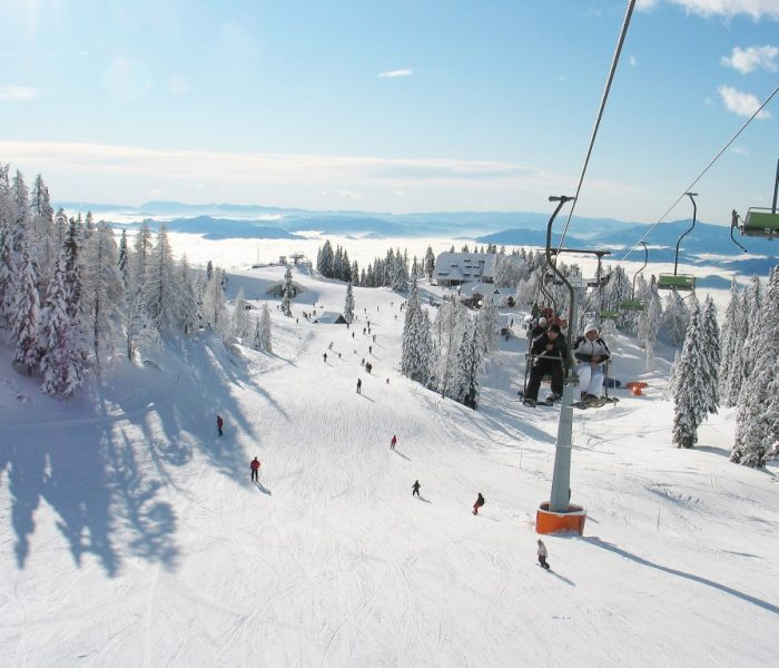 Tour around ski resorts in Slovenia
