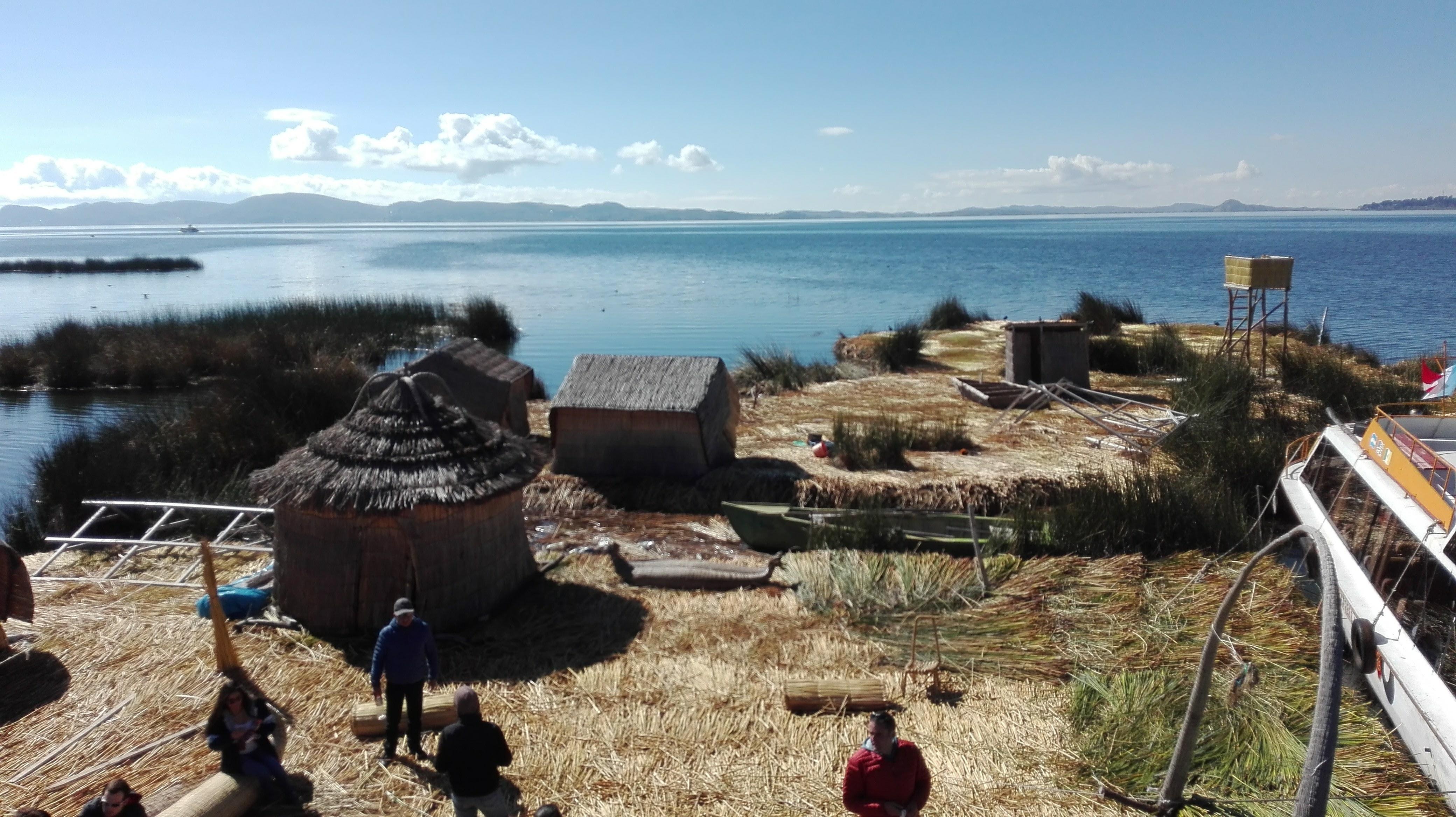 on Uros island