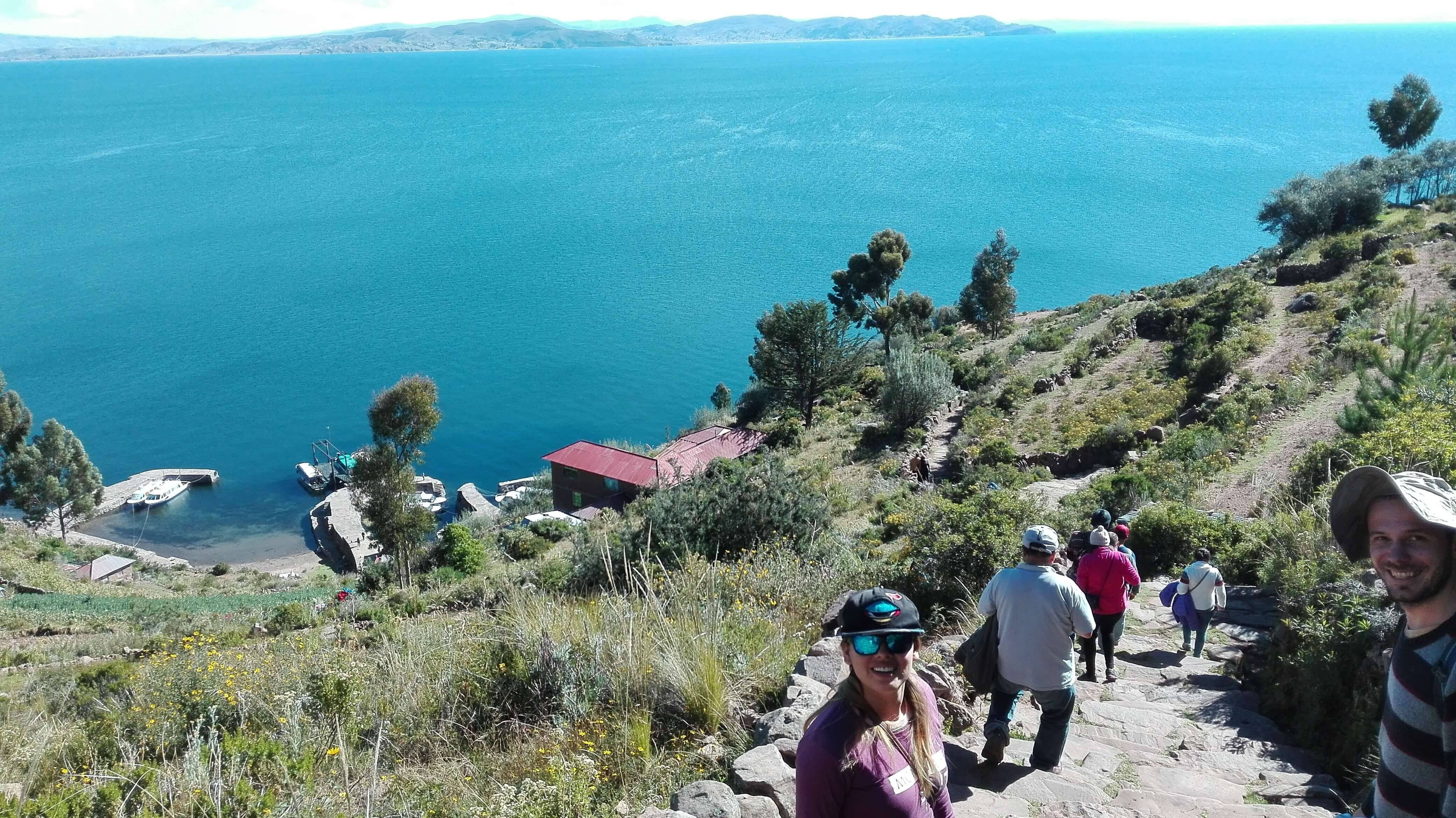 Taquile lake