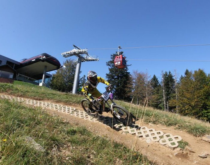 Best lift-accessed bike parks in Slovenia