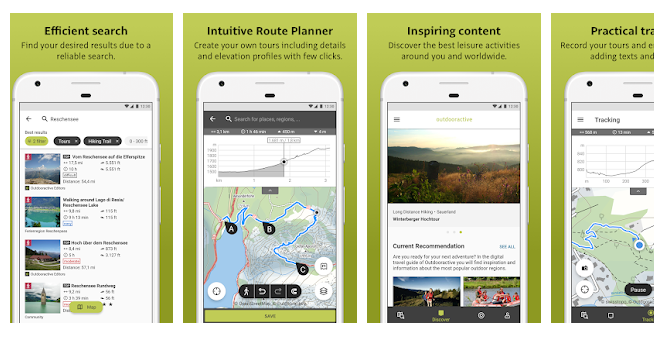 Outdooractive_hiking app
