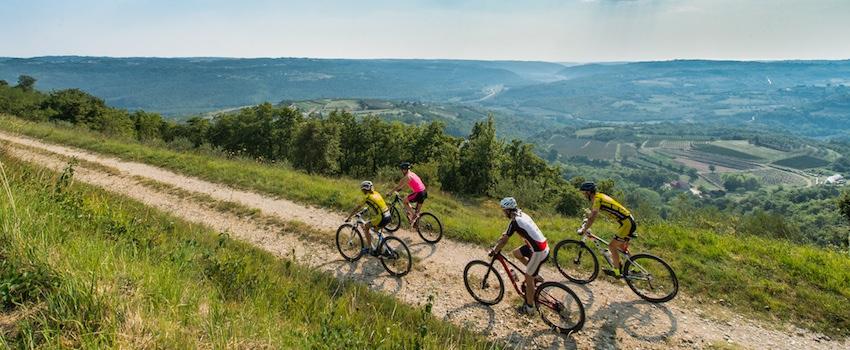 Paranzna xc bike track Slovenia
